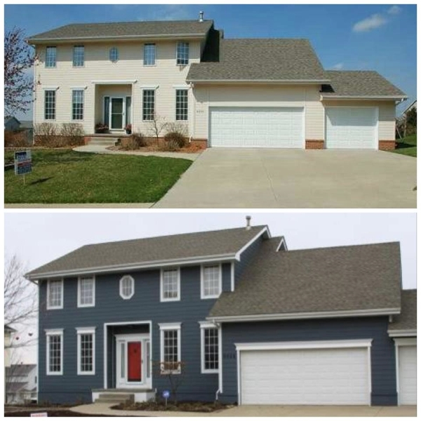 Before and after pictures of house exteriors house pictures - Home exteriors before and after ...